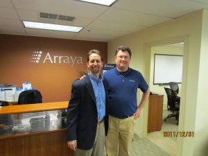 Arraya co-founders Dan Lifshutz and David Bakker