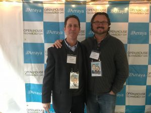 Arraya's co-founders Dan Lifshutz and David Bakker